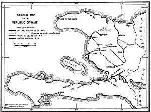 Haiti Wikipedia - Haiti major cities map