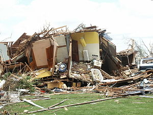 Tornado outbreak sequence of May 2004 - More damage in Hallam