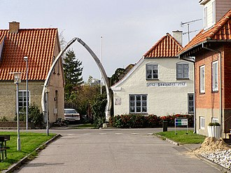 Hals Municipality - The Whale Jaws, landmark of Hals