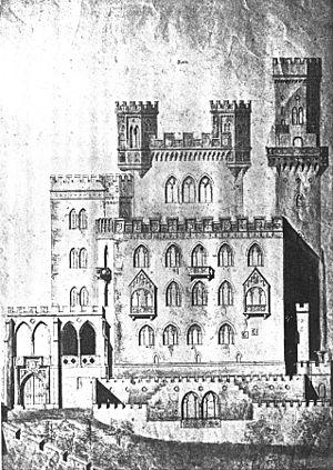 August von Voit - Image: Hambacher Schloss 1842 Voit