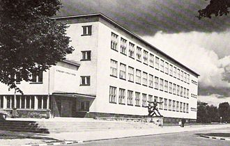 Handelshochschule Königsberg - Handelshochschule Königsberg in 1938