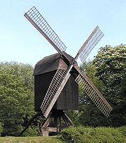 alte Bockwindmühle in Hannover