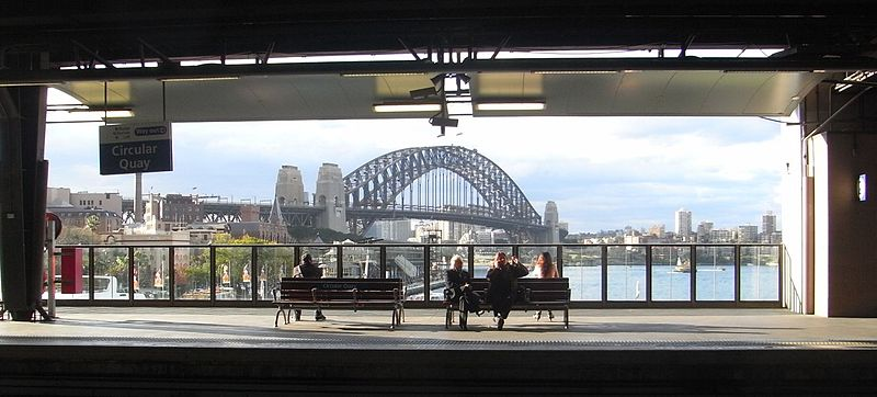 File:Harbour Bridge from Circular Quay station day.jpg