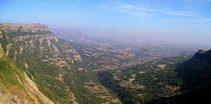 Harishchandragad - A panoramic view from the peak