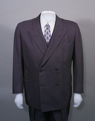 Sharkskin - President Harry S. Truman's sharkskin suit, 1950s.