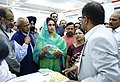 Harsimrat Kaur Badal at the inauguration of the Incubation Centre for milk and dairy products and Food Testing Laboratory, at the National Institute of Food Technology Entrepreneurship and Management, in New Delhi.JPG