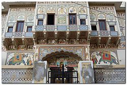 A haveli in Mandawa