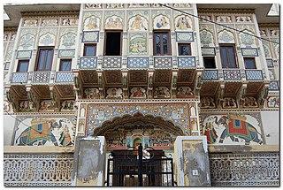 Mandawa Town in Rajasthan, India