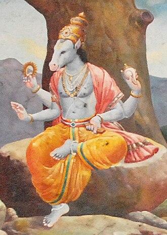 Hayagriva - Image: Hayagreeva
