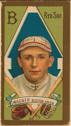 Heinie Wagner - Image: Heinie Wagner baseball card