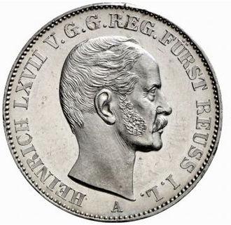 Heinrich LXVII, Prince Reuss Younger Line - Image: Heinrich LXVII
