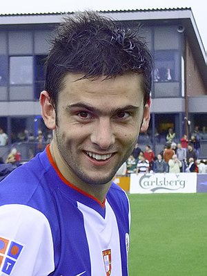 Hélder Postiga - Postiga as a Porto player in 2007