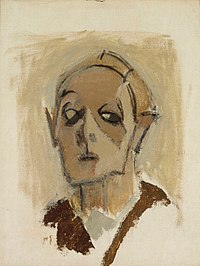 Helene Schjerfbeck - Self-Portrait en face I - A-2005-131 - Finnish National Gallery.jpg