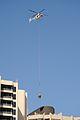 Helicopter moving HVAC equipment (8332716072).jpg