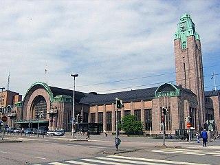 Helsinki Central Station railway station in Helsinki, Finland