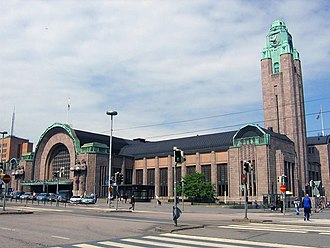 1919 in rail transport - Helsinki station