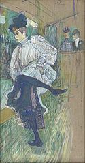 Jeanne avril dansant