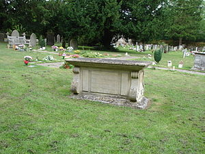 Sutton Courtenay - Asquith's Grave at All Saints' Church