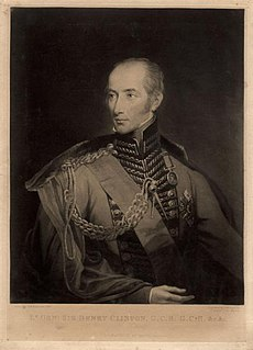 Henry Clinton (British Army officer, born 1771) British Army general