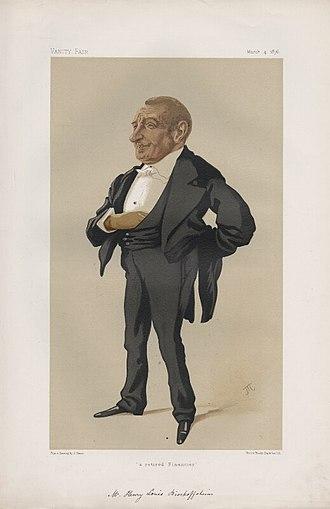 Henri Louis Bischoffsheim - Image: Henry Louis Bischoffsheim (1829 1908)