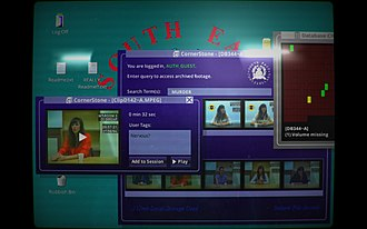 Her Story (video game) - Image: Her Story screenshot 02