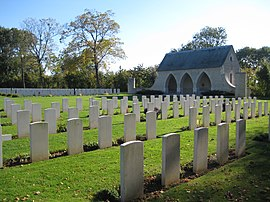 WW II British cemetery