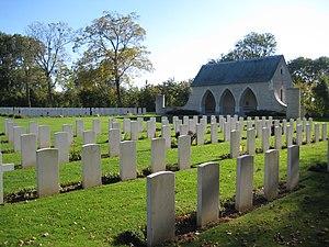 Hermanville-sur-Mer - WW II British cemetery