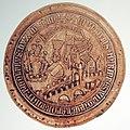 Herzog Rudolf IV Stadtsiegel (1361) von Rapperswil 2013-10-05 16-00-26 (P7700).JPG
