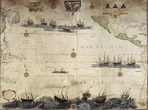 Hessel Gerritsz - Hessel Gerritsz, Map of the Pacific, 1622