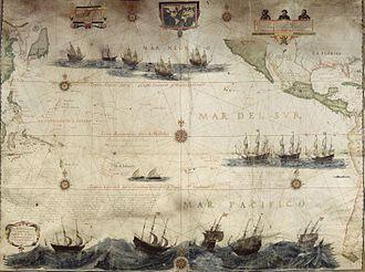 Hessel Gerritsz - Hessel Gerritsz, Map of the Pacific, 1622