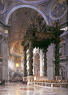 Het Baldakijn van Bernini - The Baldachinno
