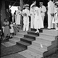 Het koninklijk paar bij het bezoek aan Barber, Bestanddeelnr 252-3745.jpg