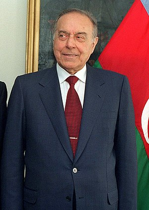 Committee for State Security of the Azerbaijani Soviet Socialist Republic - Image: Heydar Aliyev 1997