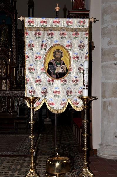 De Matthiasfändel an der Kierch zu Hiefenech.