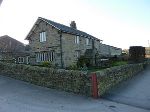 Listed buildings in Ightenhill - Image: High Whittaker Farmhouse