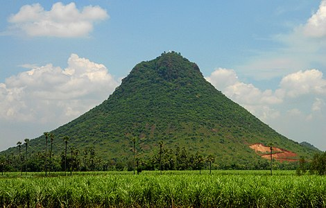 Hill of Padmanabham in Visakhapatnam district.jpg