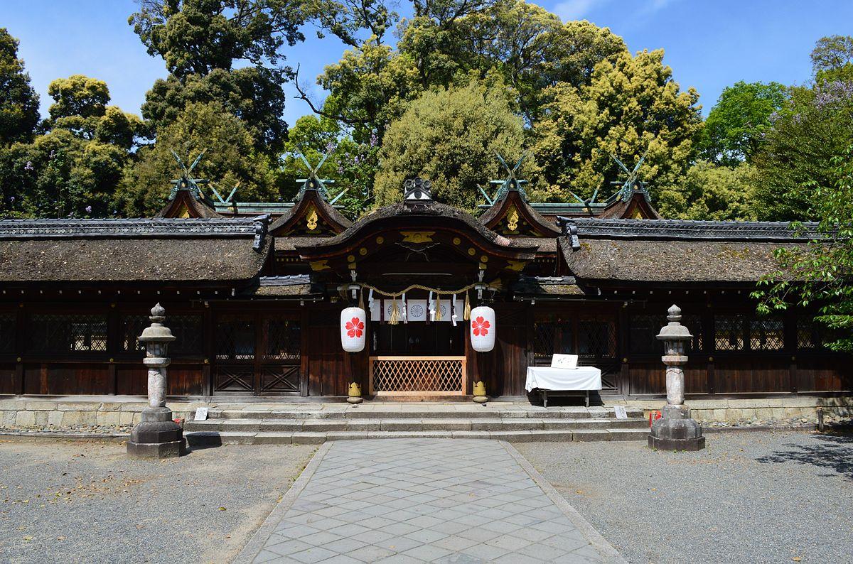 Hirano-jinja (Kyoto, Kyoto) haisho.JPG