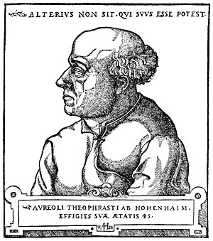 History of hypnosis - Paracelsus