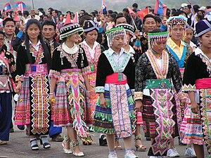 Muang Xay - Hmong women, Muang Xay