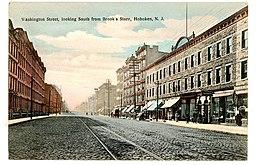 Hoboken 1908 John C. Voigt postcard co., Photo and Art Postal Co., [Public domain], via Wikimedia Commons