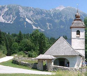 Karawanks - Hochstuhl / Veliki Stol, view from Zasip