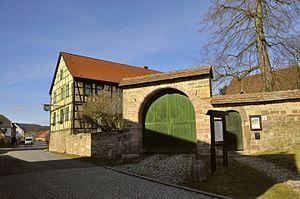 Hohenfelden, Alter Pfarrhof