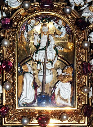 Holy Thorn Reliquary - The thorn rises before Christ
