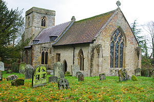 West Hendred - Image: Holy Trinity, West hendred geograph.org.uk 1748272