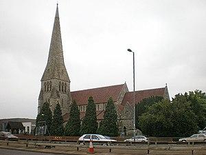 Millbrook, Southampton -  Millbrook church
