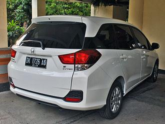 Honda Mobilio - Honda Mobilio 1.5 E (DD4; pre-facelift, Indonesia)