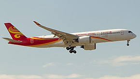 Hong Kong Airlines A350-941 (B-LGB) at Los Angeles International Airport.jpg
