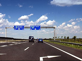 M3 motorway (Hungary) - Image: Hongrie E71 M30