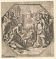Honors rendered to Psyche - AA (monogram of Andrea Andreani) in Mantoua 1602. LCCN2008678933.jpg