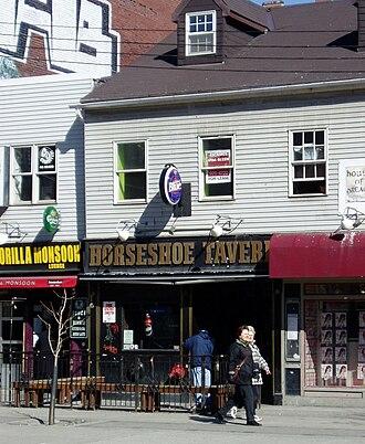 Horseshoe Tavern - The Horseshoe Tavern